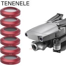 TENENELE Filtro para Dron ND 4, 8, 16, 32, juego de filtros de cámara para DJI Mavic 2, Zoom Polar, Protector UV, accesorios para Zoom Mavic2