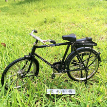 Small Metal Bicycle Decoration 23 x 7 x 13 CM