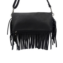 Hot Sale European&American Style Fashion Tassels Bags  women Shoulder Bags