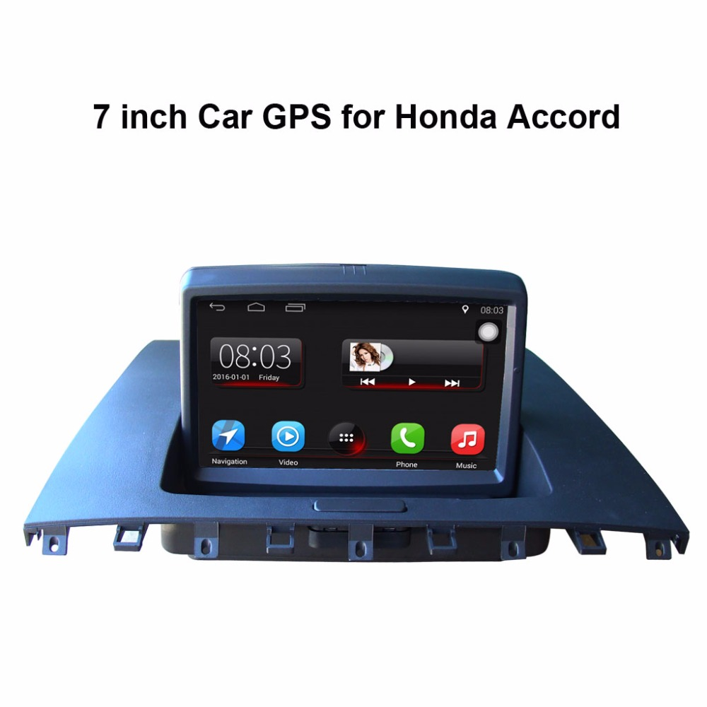 Android 7.1 media player Do Carro para Honda Accord (2003-2007) de Vídeo do carro, carro original de atualização, mantenha Rádio original (CD) todas as funções