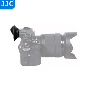 Image 3 - JJC EyeCup mercek SONY A7R IV A7R III A7 III A7 II A7S II A7R II A7R A7S A7 a58 A99 II A9 II kamera değiştirir Sony FDA EP16