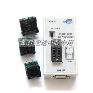 Image 3 - RT809F Programmer +7 Adapters+SOP16 SOP20 IC Clip Motherboard Reader LCD BIOS ISP/ USB/ VGA w/ Engilsh Softerware