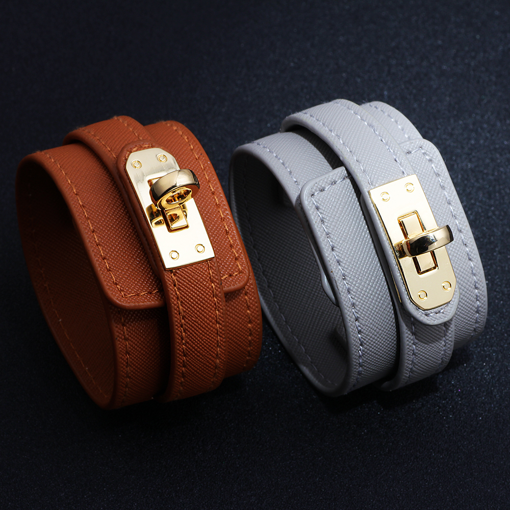 Bracelet leather multi layer alloy bracelet women 39 s retro punk casual bracelet jewelry accessories new hot armbandjes dames in Charm Bracelets from Jewelry amp Accessories