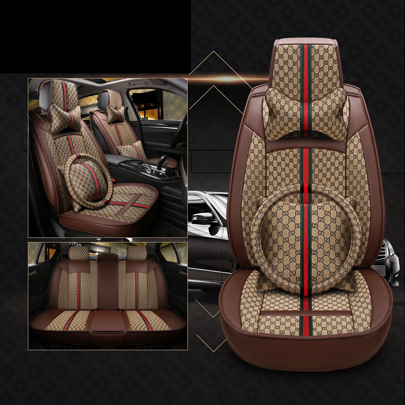 Flax car seat cover covers auto automobiles For Land rover freelander 2 freelander2 range rover 2 3 sport evoque x9 defender in Automobiles Seat Covers from Automobiles Motorcycles