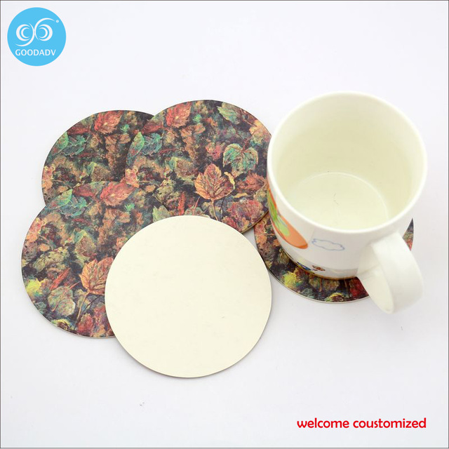 full color printing personalise coasters free shipping drinks coffee