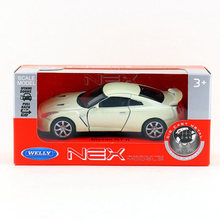 Brand New WELLY 1/36 Scale Car Model Toys Nissan GTR Diecast Metal Car Toy For Gift/Kids/Collection/Decoration(China)