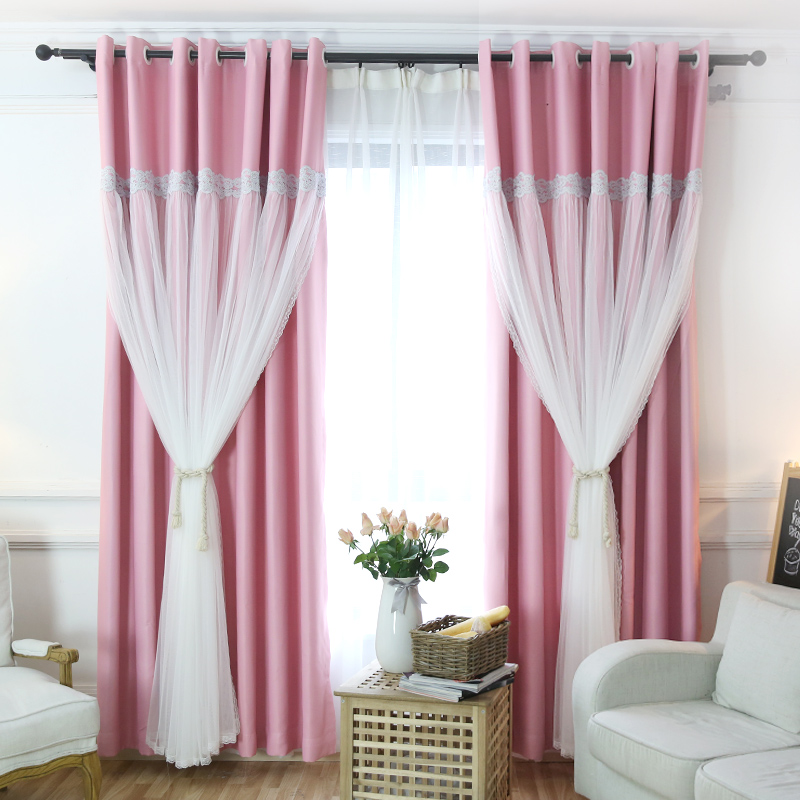 SunnyRain 1-Piece Double-layer Blackout Curtains Hollow-out Stars Curtain For Bedroom Blackout Curtain For Kids RoomSunnyRain 1-Piece Double-layer Blackout Curtains Hollow-out Stars Curtain For Bedroom Blackout Curtain For Kids Room