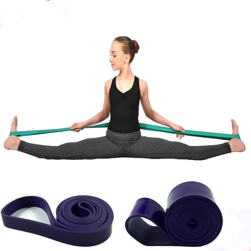 5 Colors Ballet Dance Band Accessories Gymnastics Ballet Dance Band Resistance Elastic Children Ballet Soft Opening Foot Stretch