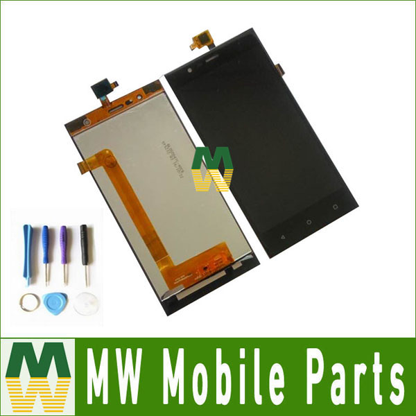 1PC Lot High Quality Black Color For Highscreen Boost 3 LCD Display Touch Screen Digitizer Assembly