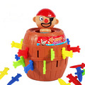 Running man pirate party toys barrel uncle sword game pirates barrels pirate crisis barrels Novel and whimsy toy