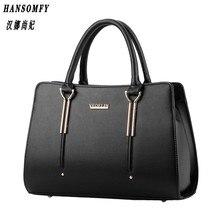100% Genuine leather Women handbag 2017 New bag female sweet lady stereotypes fashion handbag Crossbody Shoulder Handbag