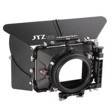 "JTZ DP30 Cine סיבי פחמן 4 ""x 4"" דהוי תיבה 15 מ""מ/19 מ""מ עבור Sony ARRI אדום A7S A7 A7R2 A7RM2 A6500 A7000 GH4 GH5 GH6 C100 BMPCC FS5"