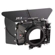 """Jtz dp30 cine 탄소 섬유 4 """"x4"""" 매트 박스 15mm/19mm 소니 arri 레드 a7 a7s a7r2 a7rm2 a6500 a7000 gh4 gh5 gh6 fs5 c100 bmpcc"""