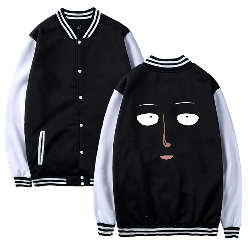 2018 One Punch Man Jacket Men and Women Long Casual Autumn Popular Jacket Winter Sexy Jacket Men Casual Clothing