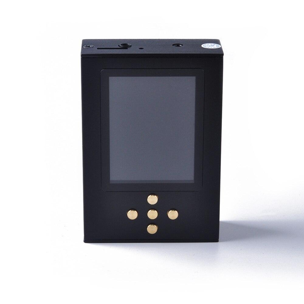 Wooeasy bricolage Zishan DSD AK4497EQ lecteur de musique professionnel sans perte HiFi portable lecteur MP3 Solution dure 2.5 amplificateur équilibré