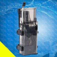 Protein Skimmer Marine Aquarium Fish Tank Filter System Accessories RESUN SK300 3.5W 300 L / H