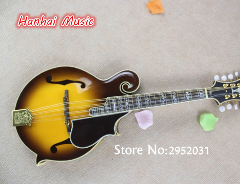 free shipping electric guitar handmade style 27 frets 8strings classic mandolin guitar high. Black Bedroom Furniture Sets. Home Design Ideas