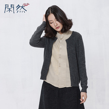 Xian Ran 2016 Women Woolen Coat Single Breasted Women Sweater High Quality Free Shipping