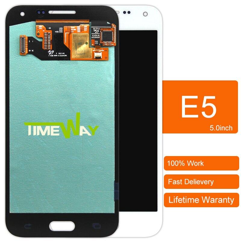 Dhl 10 unids piezas originales de teléfono móvil para samsung e5 sm-e500f pantal