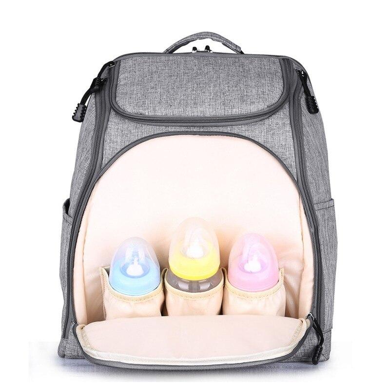 Fashion Mummy Maternity Backpack Baby Nappy Care Designer Diaper Nursing Bag Travel Stroller Large