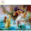 HOME BEAUTY Diy Diamond Painting Angel Lover Cross Stitch 3d Diamond Mosaic Embroidery Kits Picture Of