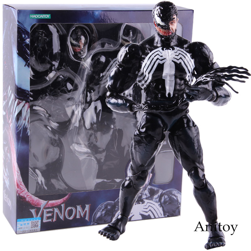 Marvel Venom Action Figure Hot Toys 1/6 Scale PVC Collectible Model Toy