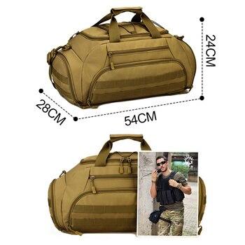 Outdoor Sports Backpack Tactical Army Bags for Men Camping Hunting Rucksack Shoulder Bag Mochilas Tacticas Sac De Sport XA996WD 2