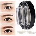 Estampador de ColorWomen Mujeres Maquillaje Cosmético Straight Cejas Polvo Perfect Enhancer 17303 Envío de La Gota