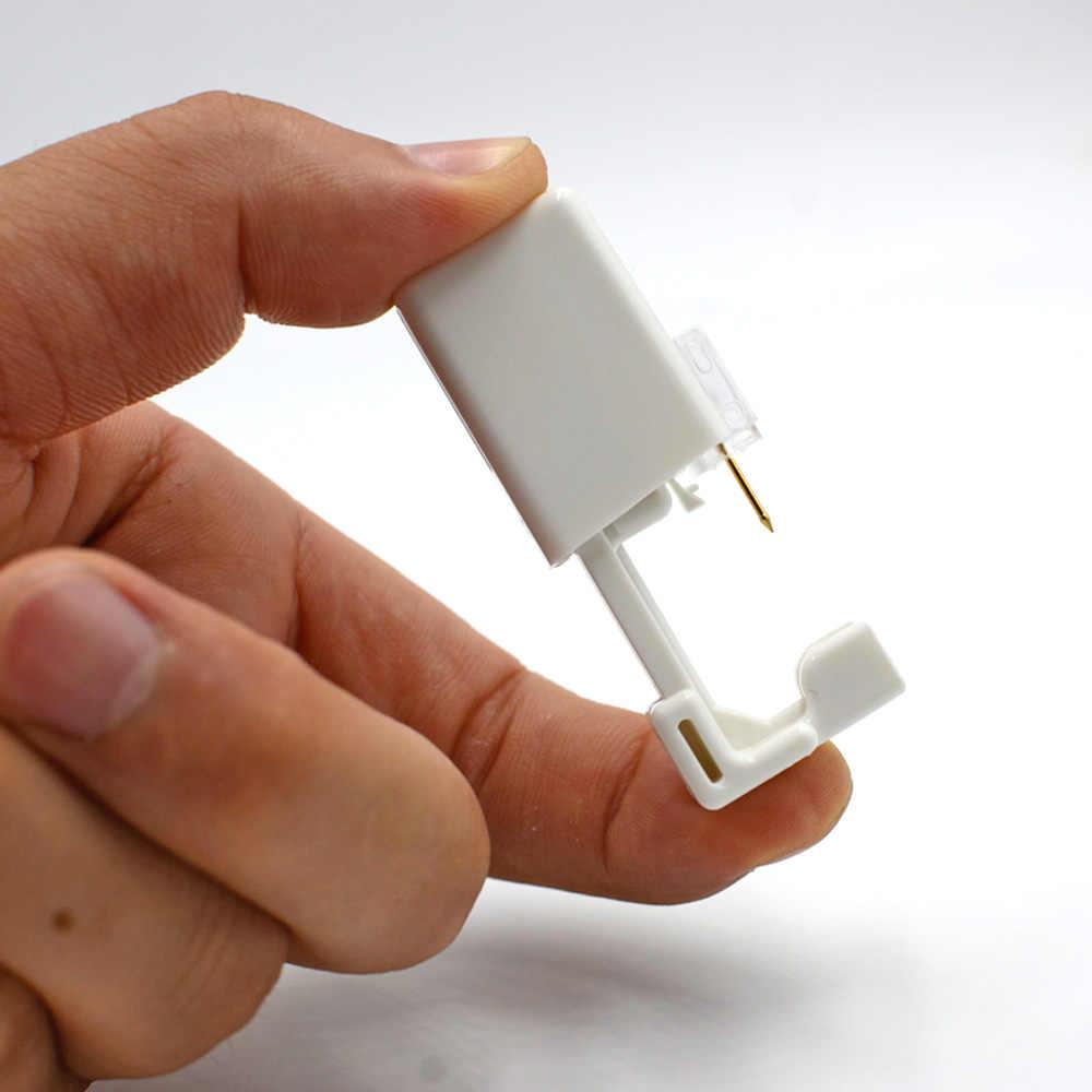 1 יחידה חד פעמי בטוח סטרילי פירסינג יחידה עבור פנינה האף הרבעה פירסינג אקדח Piercer כלי מכונת ערכת עגיל Stud גוף תכשיטים