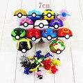 7 cm NOVO! 13 cores disponíveis Japão Anime Brinquedos Pokeball Pokébola Com Animais De Fadas Figura de Ação DO PVC Brinquedos