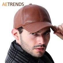 ** 2016年皮革棒球帽/男士戶外運動帽子