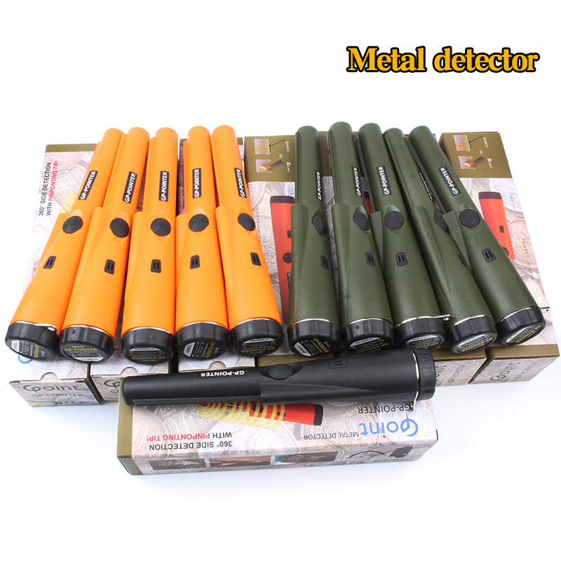 Pro Pointer Gold Metal Detector Waterproof Pinpointer use For Gold Coin Free Shipping professional pointer metal detector handheld pin pointer metal detector waterproof for coin gold