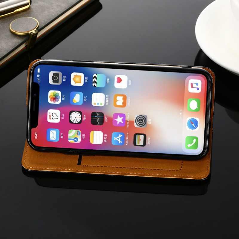 Ví Bao Da Cho Xiaomi Redmi Note 7 7S 7A 6 5 4 3 8 8A 8T 6A 5A 4A 4X3 S K20 Pro SE Plus Ốp Lưng Flip Từ Bao Da Điện Thoại
