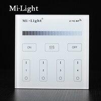 Milight T1 AC220V 4 Zone Brightness Dimming Smart Panel Remote Controller For Led Strip Light Lamp