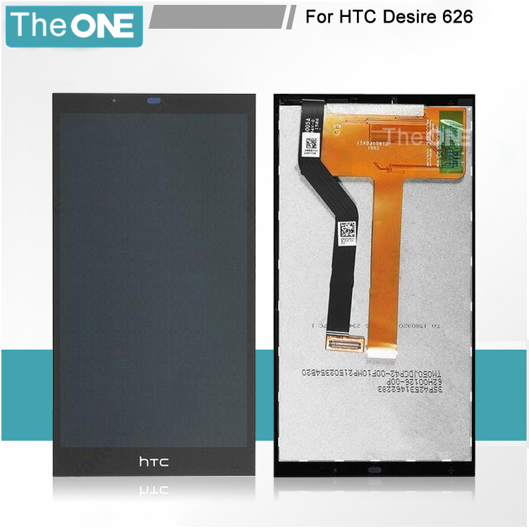 Black LCD Display Touch Screen Digitizer Assembly Replacement For HTC Desire 626 626G 626W Free Shipping