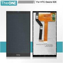 Schwarz LCD Display + Touch Screen Digitizer Assembly Ersatz Für HTC Desire 626 626G 626 Watt Kostenloser Versand