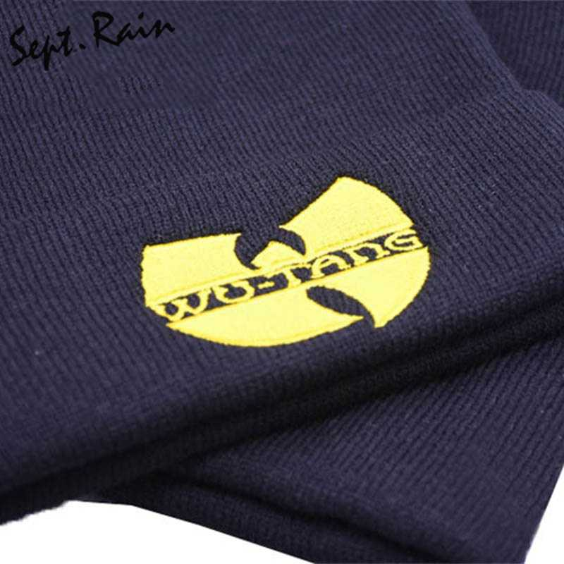 dc3bed6af05e6 ... High Quality WU TANG CLAN Men s Hats Unisex Winter Warm Casual Beanie  Hat Women Hip Hop ...