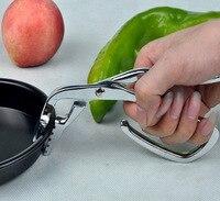 Escorredor de pratos da cozinha Bandeja Anti-queimadura Quente Isolamento Clipe Clipe ferramentas faca de cozinha cortador de pizza Pizza Pan À Prova de Calor pizza pá