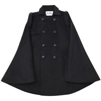 2020 New Men's clothing Cloak tweed coat Cape shawl winter Korean Edition retro style windbreaker singer costumes