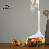 GX. Diffuser Nước Hoa Độ Ẩm Không Khí cho Office Home Phòng Ngủ Tinh Dầu Diffuser Aroma Diffuser Máy Lọc Điện 7 Đèn LED