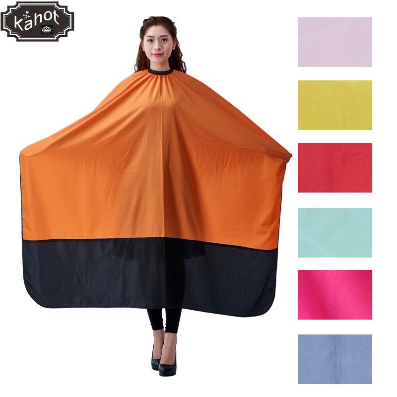 1pc Salon Professional Hairdressing Capes Large Hair Cutting Wrap Coloring Styling Gown Hairdresser Barber Home Camps Cloth salon professional hair styling cape adult hair cutting coloring styling cape hairdresser wai cloth barber fashion pattern capes