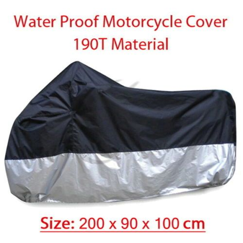 Small Motorcycle Bike Moped Scooter Cover Outdoor Indoor 200x90x100cm