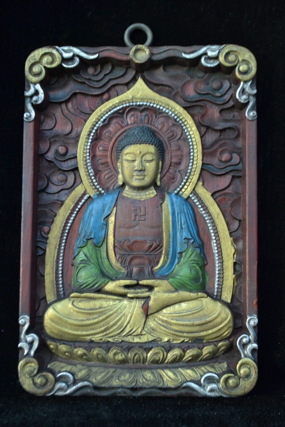 Christmas Antique Collectible Old Wood Carve BUDDHA figure Big Sculpture PRAYER Statue HalloweenChristmas Antique Collectible Old Wood Carve BUDDHA figure Big Sculpture PRAYER Statue Halloween