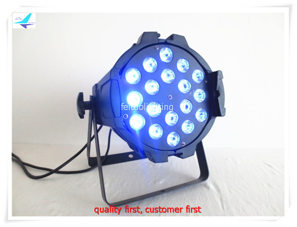 free shipping 8pcs/lot 18X18W LED Par 64 Light RGBWA UV 6IN1 Stage DJ Lighting DMX Lumiere Wash Can for Nightclub Disco KTV Show 2pcs lot led par can 18x18w rgbwa uv dmx stage business light high power light for party ktv disco dj shenhe stage lighting