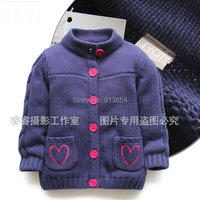 new 2019 spring autumn Long Sleeve Girls Sweater baby cardigan Clothing kids sweaters infant knitted sweaters coat