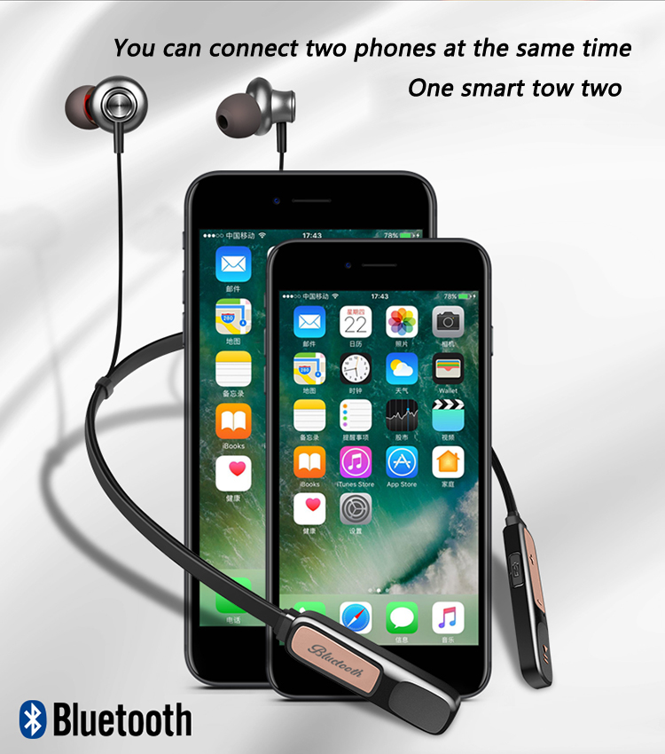 Image 3 - Y7 Earpiece Wireless Headphones Bluetooth Earphone Wireless Bluetooth Handsfree/earbuds Wireless Headphones For Iphone-in Bluetooth Earphones & Headphones from Consumer Electronics