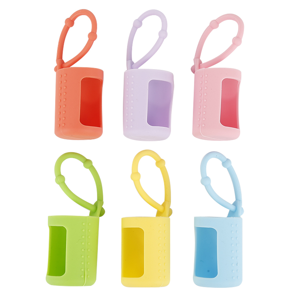 6 Pieces Silicone 5ml/10ml/15ml Roller Bottles Holders Sleeves Essential Oil Case Protector Blue Pink Purple Green Yellow Orange6 Pieces Silicone 5ml/10ml/15ml Roller Bottles Holders Sleeves Essential Oil Case Protector Blue Pink Purple Green Yellow Orange