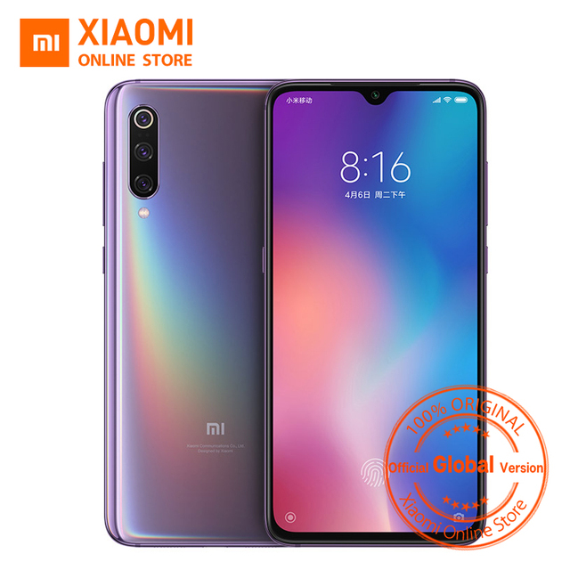 "Global Version Xiaomi Mi 9 6GB 64GB Mi9 Mobile Phone Snapdragon 855 Octa Core 6.39"" AMOLED Full Screen 48MP Rear Camera"