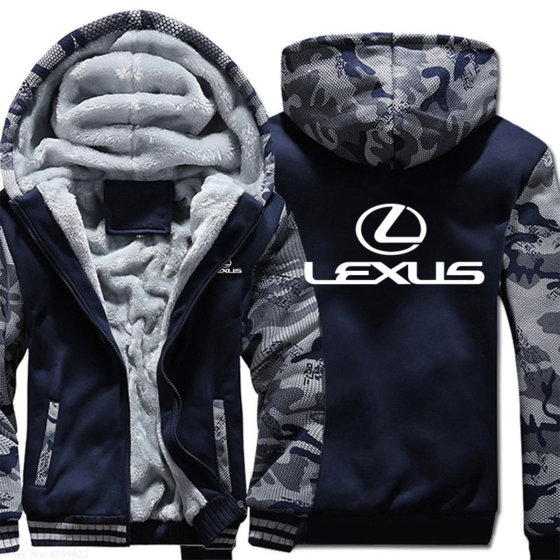 Lexus Hoodie Men Jacket Full Sweatshirts warm Coat 2019 Hot
