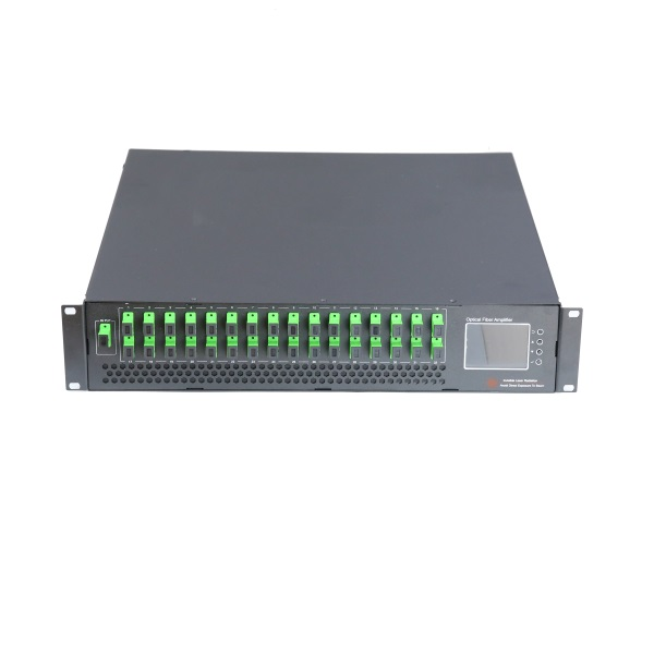 32 Ports EYDFA, 2U High Power EDFA, 15/17/22dBm, With Or Without WDM